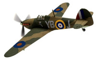 AA27606 | Corgi 1:72 | Hawker Hurricane MkI YB-J, Winged Popeye P.O Leonard Walter Stevens No.17 Sqn, Debden ,1940 | is due: January 2018