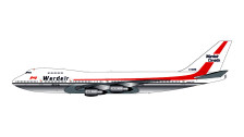 G2WDA317 | Gemini200 1:200 | Boeing 747-200 Wardair C-GXRD | is due: July 2017