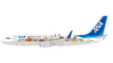 XX2031 | JC Wings 1:200 | Boeing 737-800 ANA JA85AN, 'Tohoku Flower Jet' (with stand) | is due: August 2017