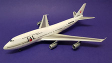 B-7474-997 | WB Models 1:200 | Boeing 747-300 JAL VH-EBX, 'Qantas Hybrid' (with stand)