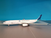 JF-A330-014   JFox Models 1:200   Airbus A330-300 Garuda Indonesia PK-GPE (with stand)