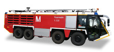 558853 | Herpa Wings 1:200 1:200 | Airport Accessories - Scenix Munich  Airport Fire Engine (Plastic) | is due: November / December 2017