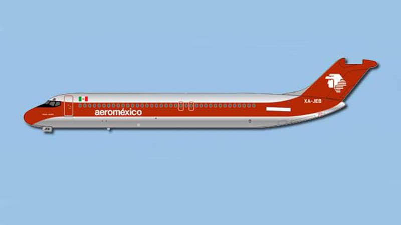 ACXAJEB | Aero Classics 1:400 | DC-9-30 AeroMexico XA-JEB