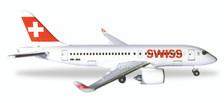 530736 | Herpa Wings 1:500 | Bombardier CS100 Swiss HB-JBA | is due: November / December 2017