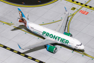 GJFFT1617   Gemini Jets 1:400 1:400   Airbus A320neo Frontier N3077FR, 'Champ the Bronco'