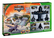 BP96236 | Toys Gifts, souvenirs, Younger Selection | Special Forces Militiary Base. Incl.4 Planes,4 Vehicles,1 Tank,1 Helicopter, Action Figures & Playmat .