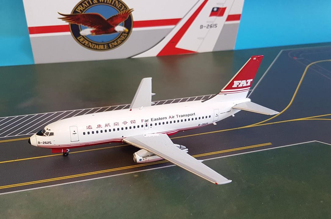 ALB020 | InFlight200 1:200 | Boeing 737-200 FAT Far Eastern Air