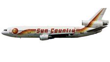 ACN572SC | Aero Classics 1:400 | DC-10-10 Sun Country N572SC | is due: November 2017