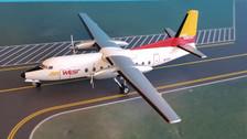 A2N759L | Aero Classics 200 1:200 | Fokker F27 Air West N759L