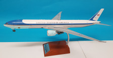 B-USAF-777-001P | WB Models 1:200 | Boeing 777-300ER USAF 77000 (with stand)