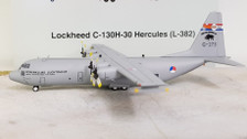 JF-C130-007 | JFox Models 1:200 | C-130H-30 Hercules Netherlands AF G-273, 'Blackbulls 100 Years' (with stand)