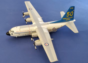 JF-C130-011 | JFox Models 1:200 | C-130E Hercules Australian AF A97-178, '50th Anniversary' (with stand)