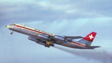 AL2002 | InFlight200 1:200 | Convair CV-990 Swissair HB-ICA (with stand)