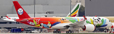 LH2116 | JC Wings 1:200 | Airbus A350-900 Sichuan Airlines, 'Panda' (flaps up, with stand)