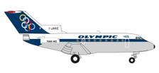 558921 | Herpa Wings 1:200 1:200 | Yak-40 Olympic Airways I-JAKE (die-cast)