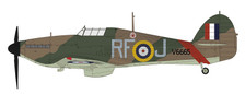 HA8609 | Hobby Master Military 1:48 | Hawker Hurricane Mk.I RAF V6665, 303 'Polish' Sqn., John Kent, Northolt, Sept 1940