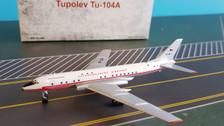 RETRO4001 | Retro Models 1:400 | Tu-104A CSA Ceskoslovenske Aerolinie OK-LDA (with stand)