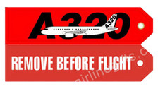 RBF320 | Gifts | Key Tag - Remove Before Flight - A320