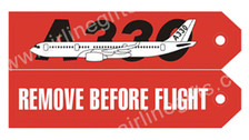 RBF330 | Gifts | Key Tag - Remove Before Flight - A330
