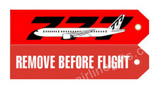 RBF777 | Gifts | Key Tag - Remove Before Flight - 777