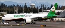 XX2039 | JC Wings 1:200 | Boeing 777-300LRF EVA Air Cargo B-16781 (incl.stand)