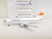 JF-737-2-004 | JFox Models 1:200 | Boeing 737-200 Indonesian AF A-7304 (with stand)