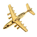CL146 | Clivedon Collection | Plane Pin  3D - BAe 146 (gold plated, with box)