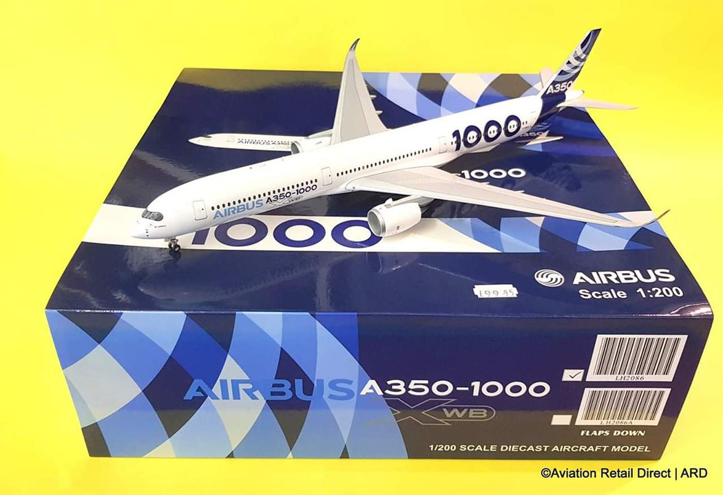 LH2086   JC Wings 1:200   Airbus A350-1000 House Colourss F