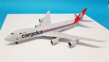 XX2041 | JC Wings 1:200 | Boeing 747-8F Cargolux LX-VCL, 'Joe Sutter' (with stand)
