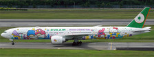 XX4031A | JC Wings 1:400 | Boeing 777-300ER EVA Air B-16722, 'Sanrio' (flaps down) | is due: January 2018