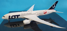 IF787LOT002 | InFlight200 1:200 | Boeing 787-8 LOT SP-LRH, 'Winter Olympics' (with stand)