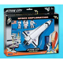 RT9710K | Toys | Space Mission | Toys | 7 Pcs. Set ,Shuttle, 3 Astronauts etc.