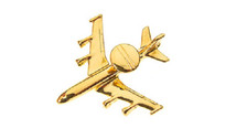 CL135 | Clivedon Collection | Plane Pin 3D - E-3D Sentry (gold plated, with box)