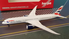 528948-001 | Herpa Wings 1:500 | Boeing 787-9 British Airways G-ZBKM