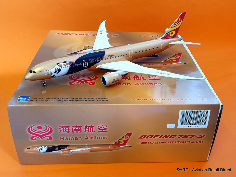 XX2068 | JC Wings 1:200 | Boeing 787-9 Hainan Airlines B