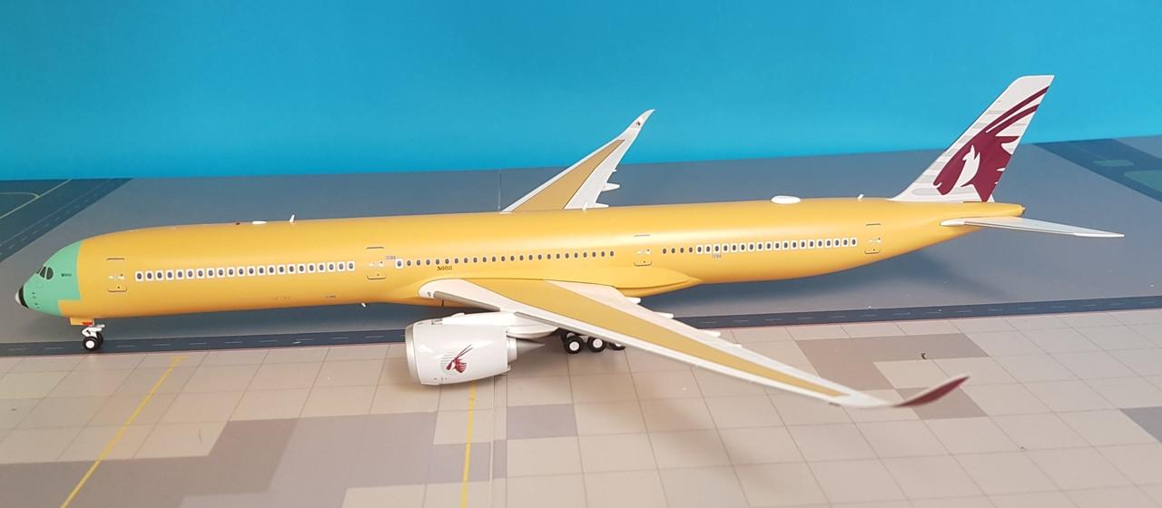 LH2089 | JC Wings 1:200 | Airbus A350-1000 Qatar 'Bare Metal