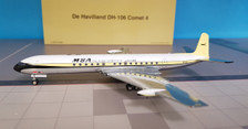 B-COMET0118P | WB Models 1:200 | DH 106 Comet 4 MSA Malaysia-Singapore Airlines 9V-BAT (polished, with stand)