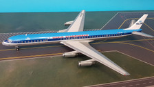 IF8630318P   InFlight200 1:200   DC-8-63 KLM PH-DEF, 'World Championship' (polished, with stand)