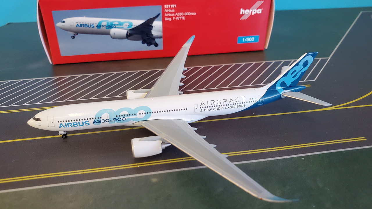 F-WTTE-NUOVO Herpa 531191-1//500 Airbus a330-900neo