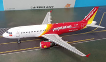 JF-A320-002 | JFox Models 1:200 | Airbus A320-214 VietJet VN-A695 (with stand)