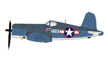 HA8218 | Hobby Master Military 1:48 | F4U-1A Corsair White 883, VMF-214, 'Martha', Dec 1943 | is due: TBC