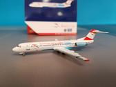 GJAUA1740 | Gemini Jets 1:400 1:400 | Fokker 100 Austrian Airlines OE-LVE, 'Goodbye Fokker'