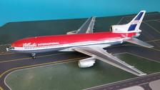 B-1011-P57001 | Blue Box 1:200 | L-1011 Tristar Atlantic International N330EA, 'Passenger 57' Movie (with stand)