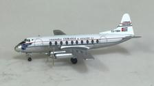 AC19255 | Aero Classics 1:400 | Viscount 700 Cubana CU-T604