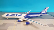 IF747N8001 | InFlight200 1:200 | Boeing 747-400 National N952CA (with stand)