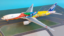EW2772001 | JC Wings 1:200 | Boeing 777-200ER ANA JA741A, 'Hello Tokyo 2020' (with stand)
