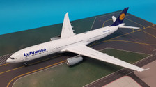 JF-A330-002 | JFox Models 1:200 | Airbus A330-300 Lufthansa D-AIKJ  (with stand) '72pcs'
