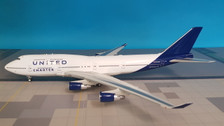 JF-747-4-008 | JFox Models 1:200 | Boeing 747-400 United Charter N194UA (with stand)