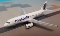 AC19260 | Aero Classics 1:400 | Airbus A319 Mandala Airlines PK-RMF