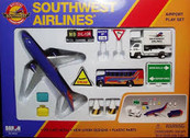 RT8181 | Toys | Airport Play Set - Southwest Airlines